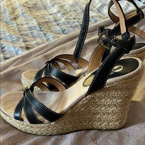 Mia Shoes - Sandal wedges